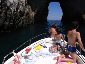 On a day trip to Capri - in the summer hydrofoils do the return trip to Capri from Acciaroli