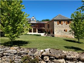 Main house and barn