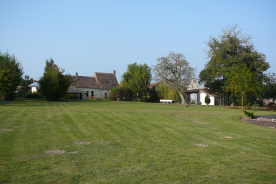 overview of most buildings from rear of property