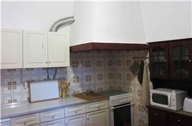 Kitchen in main dwelling