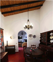 Dining room in first dwelling