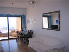 View of living areas.