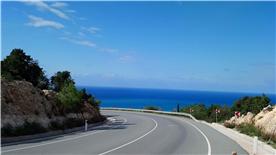 The road to the Akamas Peninsula