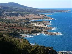 The Akamas Peninsula. Turtles next on the beaches here during the summer.
