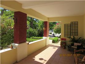 Spacious, sunny patio