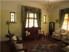 Sunny formal lounge
