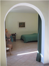 apt. 2 second floor: living/sleeping room