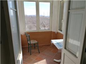 veranda kitchen/dining area
