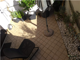 Terrace/garden area