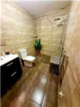 Family bathroom with walk-in shower