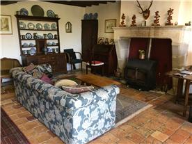 Main House Sitting room/ bureau