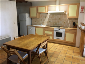 Attached Guest House equipped kitchen