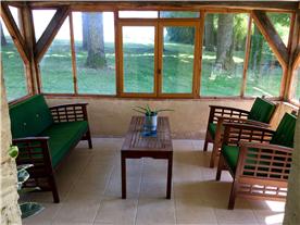 Attached Guest House veranda