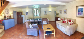 Spacious lounge of Villa  Orchidee