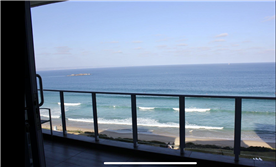 Amazing views from your private balcony.