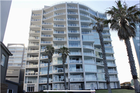 Front view of the apartment block. Apartment is on the 9th floor. Best Panoramic views