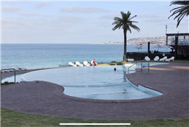 Direct Pool access from your front door. BBQ also available next to pool with private beach access