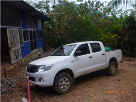 The Hilux comes with property