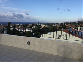 Sea view roof terrace