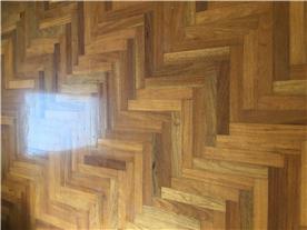 Large Bedroom Wooden Floor.