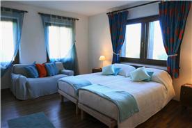 very large bedroom