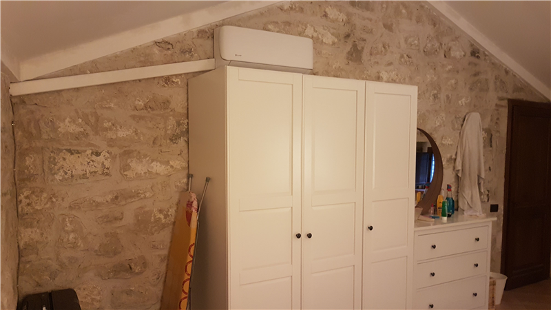 new air con in bedroom 1