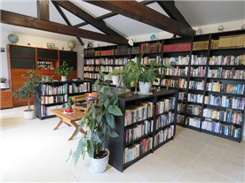 our wonderful space/ library