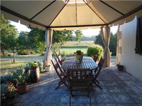 private terrace & wonderful views