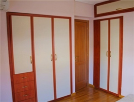 Built-in wardrobes and shelving throughout every floor