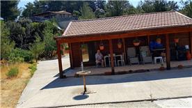 The house and veranda