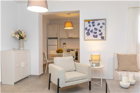 Semi Basement Living Room
