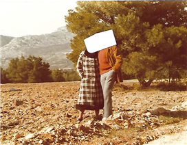 The lots cleared of bushes. Fertile land with some olive trees.