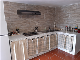Self catering kitchen in rental