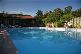 The Chateau has a 14-meter pool with changing rooms and kitchen facilities.