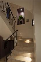 Custom Marble wall lights and foot lighting