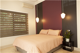 Guest Bedroom 4. with direct access to a private garden.