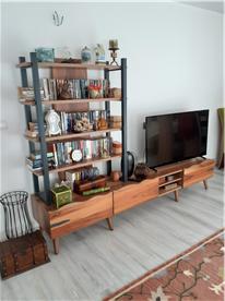 Large flat screen tv and fiber network