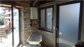 Outside kitchen / storage