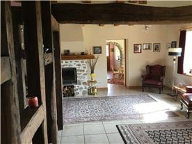 Lounge looking towards breakfast room