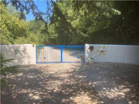 Electric entry gates