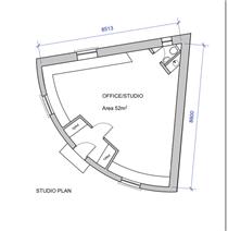 Studio Floor-plan