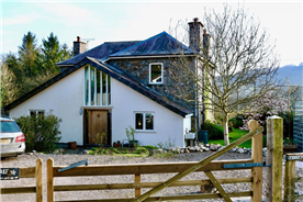 Architect-designed extension at rear of property