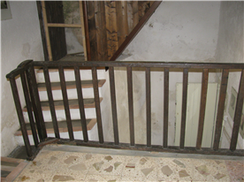 stairs to the bedrooms