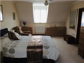 Master bedroom - double aspect.