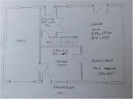Ground floor - not to scale