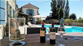 enjoy a nice glasss of wine