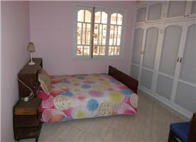 Bedroom 1, Double with built in cupboards.