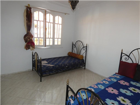 Bedroom 2, Large enough for two young children/adults.