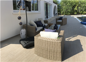 Terrace seating and Dining Areas