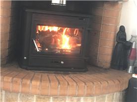 Log burner , Living Room